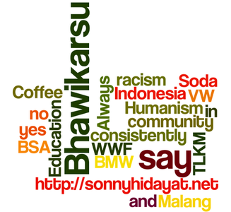 Sonny Hidayat by wordle